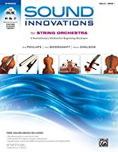 Sound Innovations for String Orchestra, Bk 1: A Revolutionary Method for Beginning Musicians (Cello), Book & Online Media