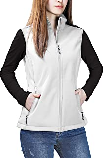 Outdoor Ventures Women's Mia Windproof Full-Zip Fleece Lined Softshell Vest