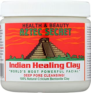 Aztec Secret - Indian Healing Clay - Deep Pore Cleansing Facial & Healing Body Mask - The Original 100% Natural Calcium Be...