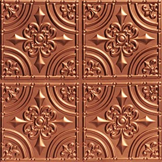 From Plain To Beautiful In Hours 205cr-24x24 Ceiling Tile, Copper