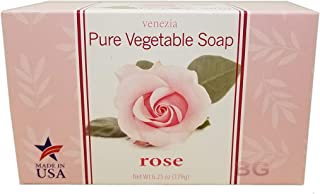 Venezia Soapworks Moisturizing Soap Rose - 7oz