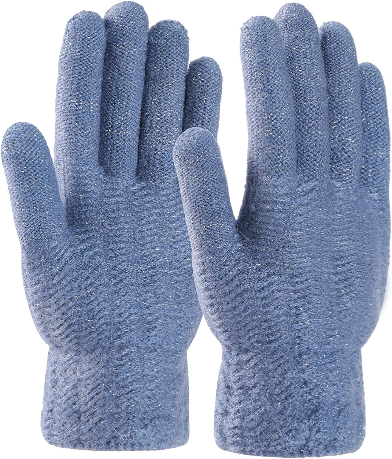 STARHOO Thermal Gloves for Women Winter Knit Gloves for Cold Weather