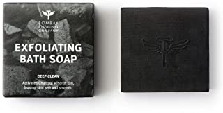 Bombay Shaving Company Charcoal Deep Cleansing Bath Soap with Coffee granules removing dirt and impuritities with Anti-Pol...