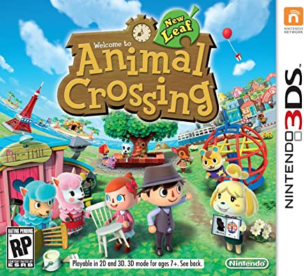 Nintendo  Animal Crossing: New Leaf, 3DS