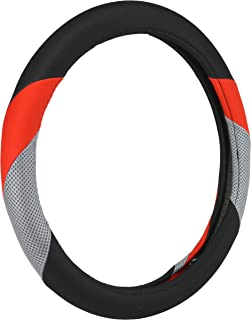 Bell Automotive 22-1-97517-9 Phantom Red Neoprene Universal Steering Wheel Cover