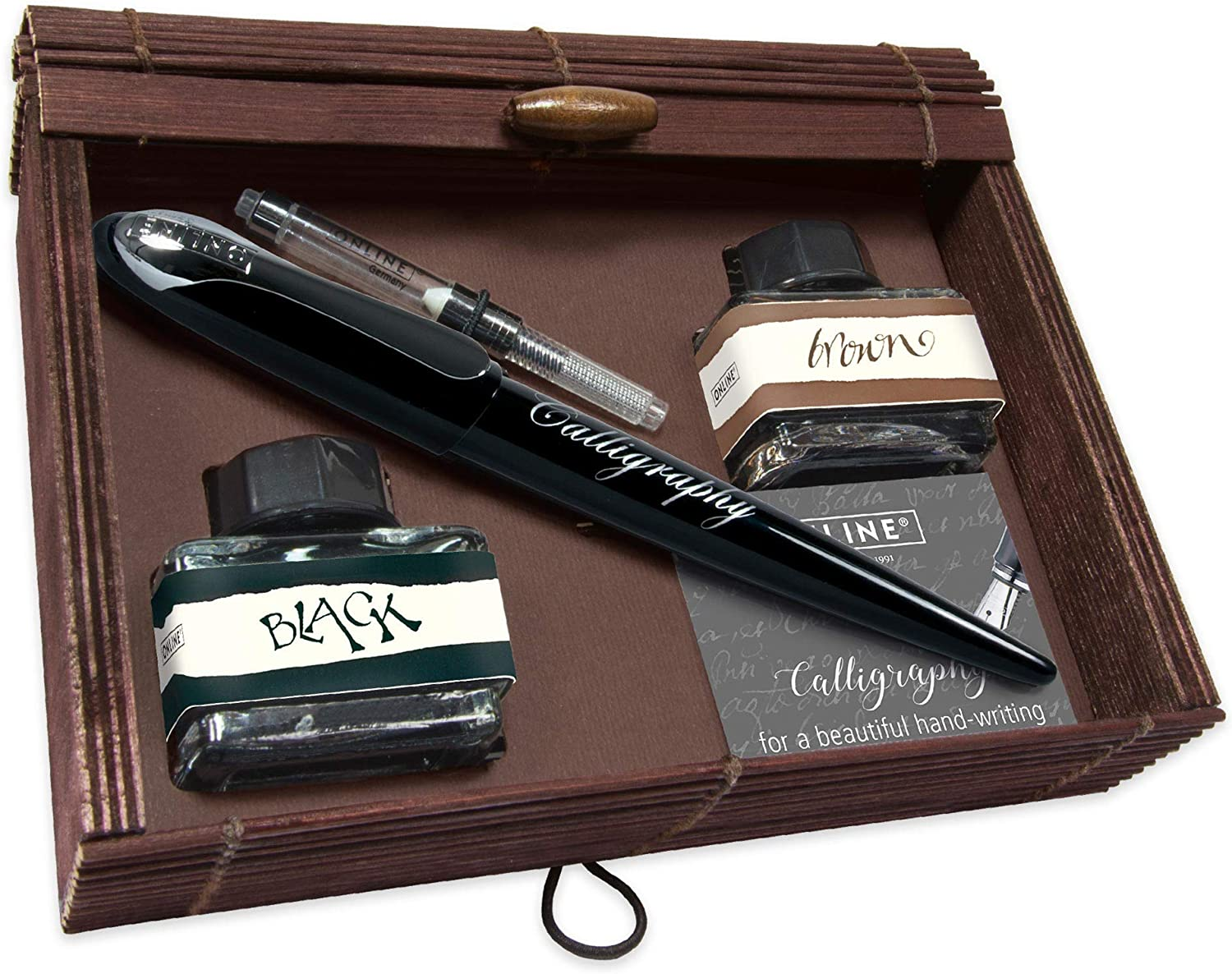 Free shipping on posting reviews free Online Calligraphy Set Black Air