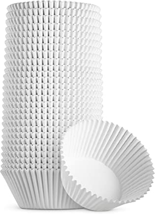 Best Quality Reynold Standard Size White Cupcake Paper - Baking Cup - Cup Liners 500 Pcs