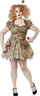 Women's Size Voodoo Dolly Plus Costume
