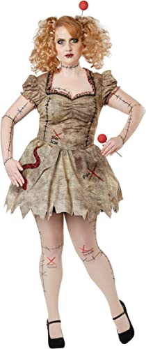promociones Wohombres Plus Talla Talla Talla Voodoo Dolly Fancy Dress Costume 3X  elige tu favorito