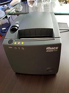Ithaca Technologies Therm 280 Thermal Receipt Printer 203 dpi 8 ips 25-Pin Parallel Interface Dark gray 280-P25-DG