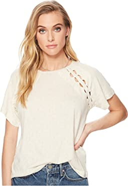 Lucky Brand - Cut Out Tee