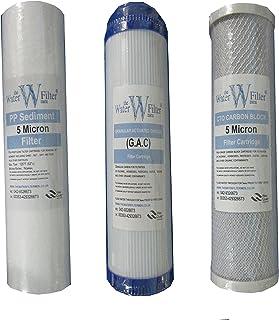 ro. Filtre à Eau Osmose inverse 3 x 5 micron filtre sédiment string-wound 10