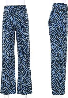High Waist Jeans Women Streetwear Straight Jean Femme All-Match Cargo Pants Hip Hop Long Loose Wide Leg Jeans