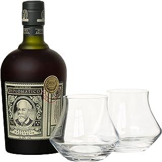 Diplomatico Reserva Exclusiva mit Geschenkverpackung mit 2 Gläsern Rum 1 x 0.7 l