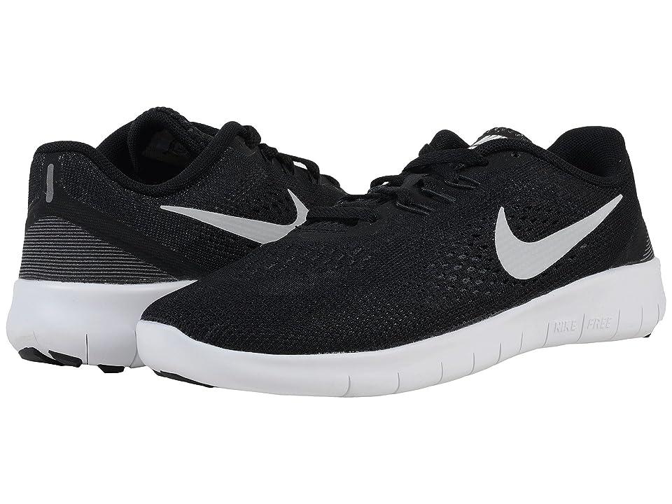 07f563700d02e UPC 886549337018 - Nike Kids Free Rn (GS) Black Metallic Silver ...