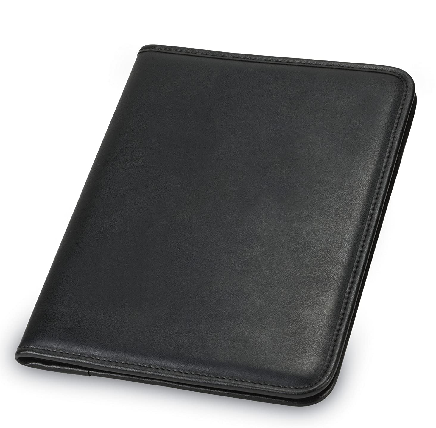 Samsill Professional Padfolio - Resume Portfolio / Business Portfolio, Document Storage, 8.5 x 11 Writing Pad, Black