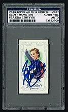 Scott Hamilton 2013 Topps Allen & Ginter's MINI card signed autograph PSA Slab