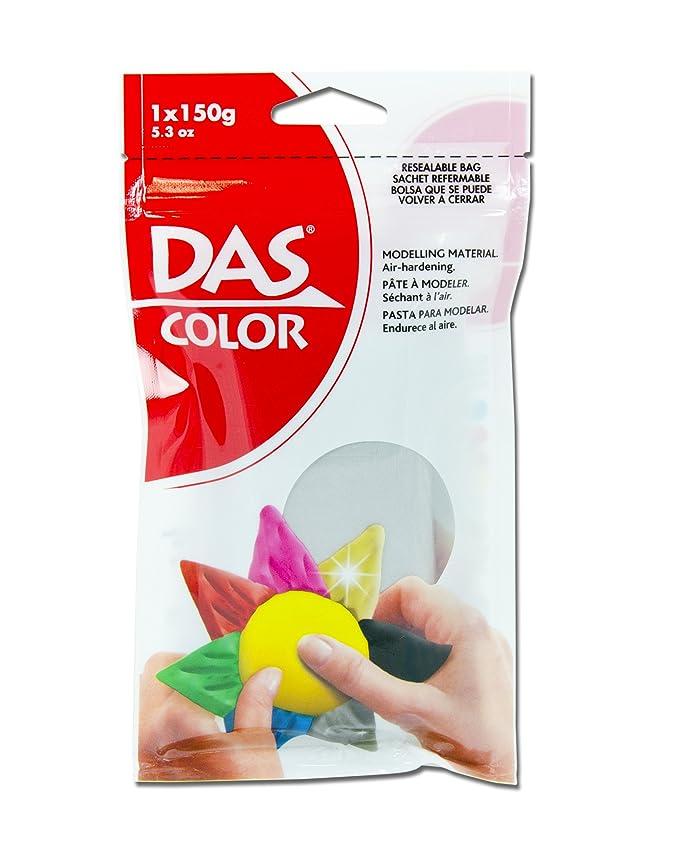スパイ注入するおとなしいDas Colored Air Dry Clay 5.3 Ounces-Silver (並行輸入品)