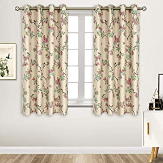 BGment Printed Blackout Curtains for Bedroom with Birds...