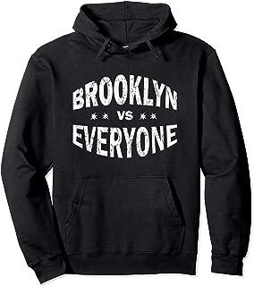 Funny Vintage Brooklyn VS Versus Everyone Sports Hoodie