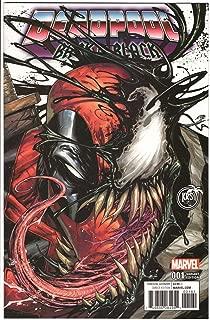 Deadpool Back in Black 1 Tyler Kirkham KRS Comics Exclusive Color Variant 3000