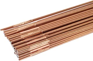 Forney 42335 Copper Coated Brazing Rod, 3/32-Inch-by-36-Inch, 5-Pound