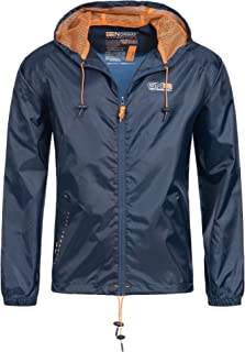 Geographical Norway Nijak Chaqueta para lluvia para hombre