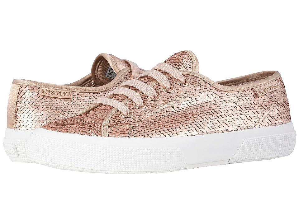 Superga 2750 Pairidesce Sneaker (Rose Gold) Women