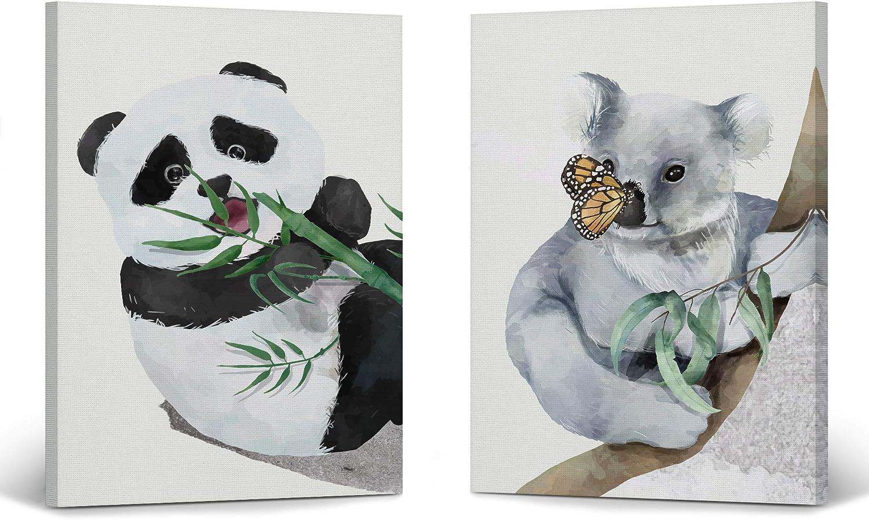 Smile Art Design Cute Panda Now free shipping and Deco Paint Watercolor Koala Wall 35% OFF