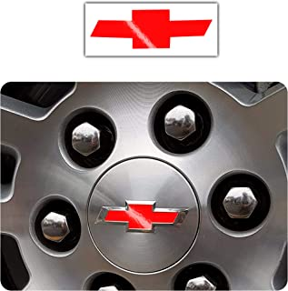 4 x 65mm 3D Stickers for Wheel Center Caps A 3465
