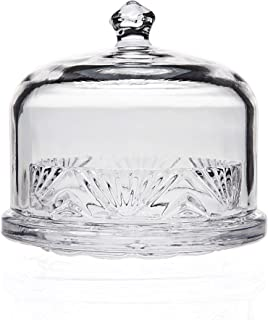 Chatham Crystal Covered Butter Dish by Godinger