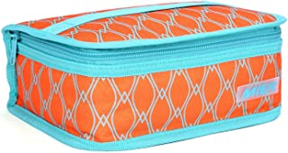 MIER Portable Thermal Insulated Cooler Bag Mini Lunch Bag for Kids, Orange