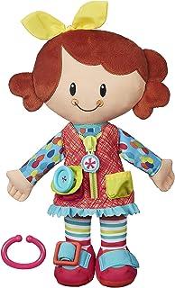Playskool Dressy Kids Girl Activity Plush Stuffed Doll...