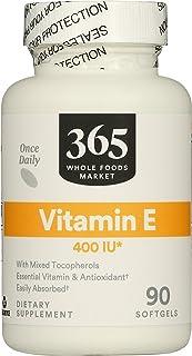 365 by Whole Foods Market, Vitamin E 400IU, 90 Softgels
