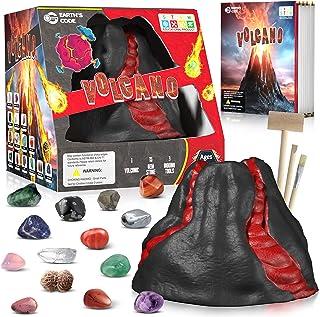 Mega Gemstone Dig Kit - Dig up 15 Real Gemstones, Rocks Collection Kit, Volcanic Minerals Dig Kit Kids Activities STEM Sci...