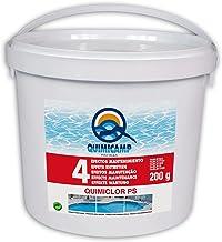 QUIMICAMP 201505 - Quimiclor (4 Efectos Manten, Tableta de 200 gr)