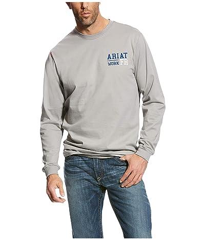 Ariat FR Americana Graphic T-Shirt (Silver Fox) Men