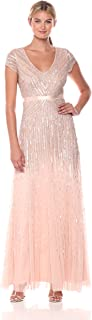 Best adrianna papell long sleeve beaded gown Reviews