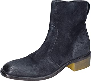 MOMA Boots Womens Suede Blue