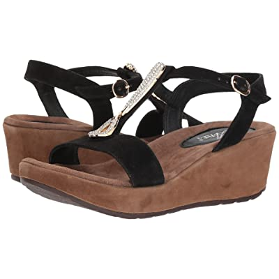 Spring Step Lawna (Black Suede) Women