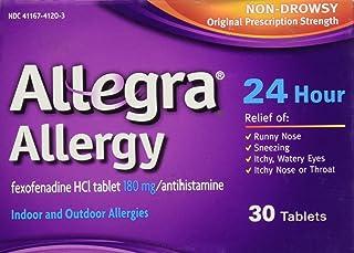 Allegra Allergy 24 Hour, 30 CT (Pack of 1)