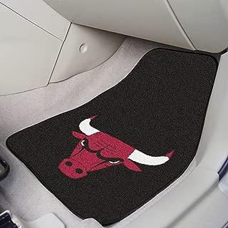 FANMATS NBA Chicago Bulls Nylon Face Carpet Car Mat