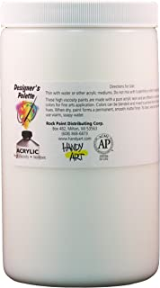 Handy Art Designer's Palette Artist Acrylic 32 ounce, Modeling Paste Medium