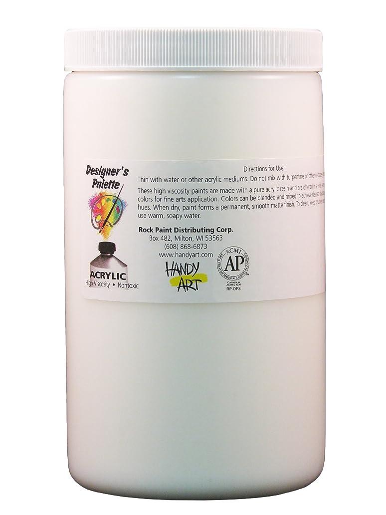 Handy Art Designer's Palette  Artist Acrylic 32 ounce, Matte Medium idx1448493
