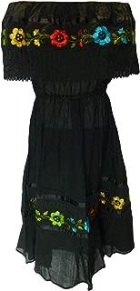 mexican crochet dress