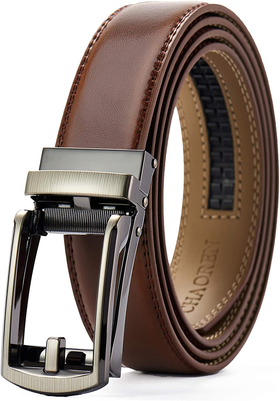 Leather Ratchet Belt 1 1/4