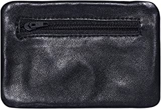 Laveri Unisex Pouch - Leather, Black