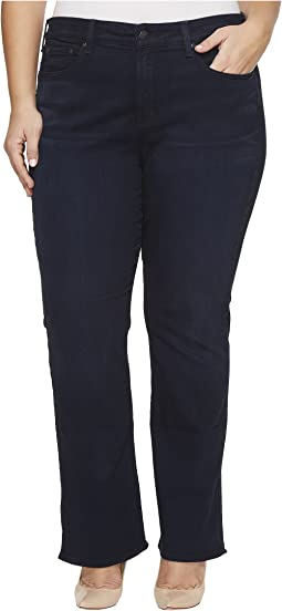 NYDJ Plus Size - Plus Size Billie Mini Boot Jeans with Side Slit in Sinclair