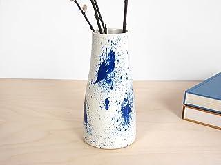 Spruzzi Vaso - Splash Vase - piante disegno originali piatti fatto cina fiori spruzzo macchia schizzare
