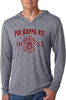 Phi Kappa Psi Triblend Long-Sleeve Hoodie